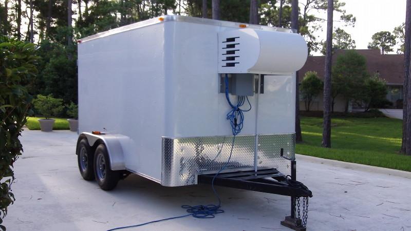 Walk in cooler trailer for sale - Cryptokitties clone